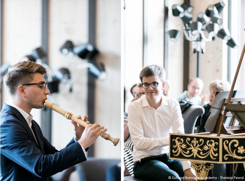 Max Volbers und Lucas Biegel