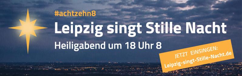 Stille Nacht in Leipzig